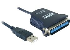 ✔CAVO ADATTATORE USB PORTA PARALLELA CENTRONICS 36PIN PC STAMPANTE LPT IEEE-1284