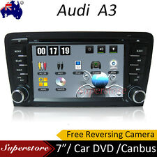 "7.0"" AUDI A3 Win CE Car DVD GPS Player Head Unit 2003-2014 Free Reverse Camera"