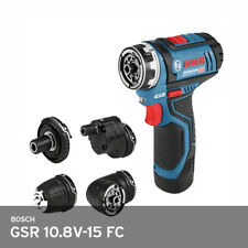 Bosch GSR 10.8V-15 FC Professional 4-Multi Drill Driver Adapter 2.0Ah x2ea  UPS