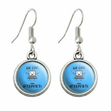Novelty Dangling Drop Charm Earrings We Can Internet Funny Humor