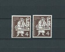 ALLEMAGNE FÉDÉRALE - 1954 YT 74 2x / MI Nr 198  - TIMBRES NEUFS** LUXE