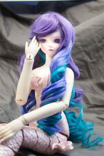 Doll Wig Long Curly with Long Bangs Anti the Holic Blend BJD Size 6-7 8-9