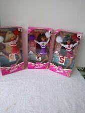 University cheerleader barbie doll 1996