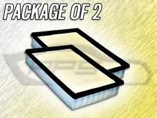 AIR FILTER AF5116 FOR 1991 1992 1993 VOLKSWAGEN FOX PACKAGE OF TWO