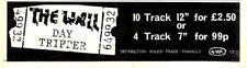 """F38 NEWSPAPER ADVERT 3X11"""" THE WALL : DAY TRIPPER"""