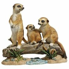 "13""H The Meerkat Clan Statue By Design Toscano"