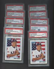 Lot of (9) Misc Corey Seager w/ 7 RC Rookie PSA Graded