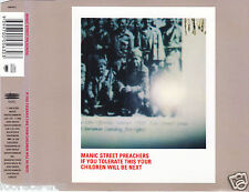 cd-single, Manic Street Preachers If You Tolerate This Your Children Will Be Nex