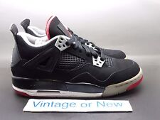Nike Air Jordan IV 4 Bred Retro GS 2012 sz 5Y