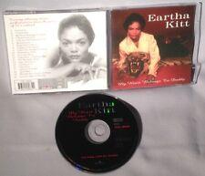 CD EARTHA KITT My Heart Belongs To Daddy UK IMPORT MINT