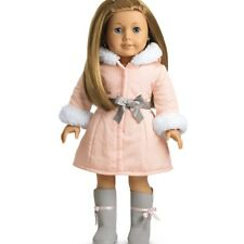NIB ~ American Girl PRETTY PINK COAT SET ~ Winter Boots & Jacket Outfit Parka