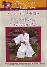 Katana Way of Life Japanese Samurai Sword Dvd Anthony Gallo iaido bokken Rs513