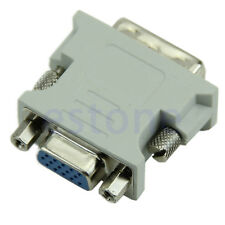 Hot Selling 15 Pin VGA Female to DVI-D Male  Adapter Converter LCD