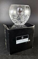 More details for royal doulton dorchester votive / candle holder,fine lead crystal giftware new