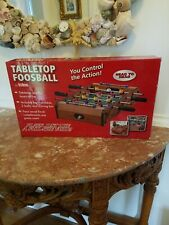 Totes Games Mini Table Top Foosball with Accessories