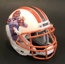 Baker Mayfield Cleveland Browns Custom Art Schutt Football Mini Helmet *RARE*