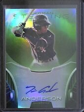 2013 Bowman Sterling Green Autograph #BSAP-TA Tim Anderson No 26 of 125