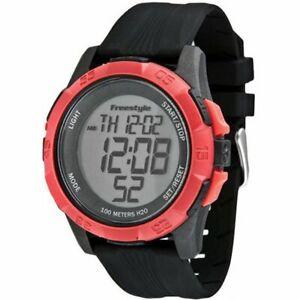 FREESTYLE KAMPUS XL DIGITAL Red 100M Water Resistant Watch 101985  - 20