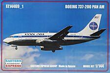 Eastern Express 1/144 Model Kit 14469_1 Boeing 737-200 Pan Am