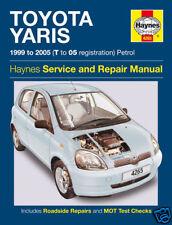 Haynes Manual Toyota Yaris Petrol 1999 - 2005 NEW 4265