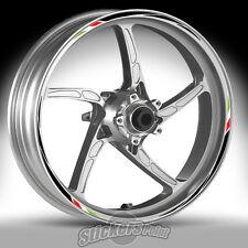 Adesivi ruote moto per HUSQVARNA SM- strisce RACING 7 cerchi stickers