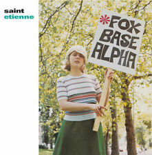 Saint Etienne - Foxbase Alpha 180G LP REISSUE NEW PLAIN British synth-pop/house