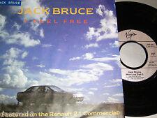 "7"" Jack Bruce (Cream) I feel free - Renault 21 Werbung Cover # 3103"