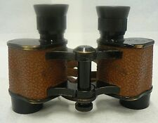 VINTAGE BAUSCH & LOMB 8 POWER 30MM PRISM STEREO BINOCULARS WITH CASE