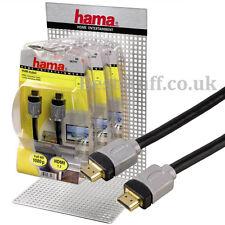 Hama de entretenimiento en casa 3m Hdmi 1.3 Cable (083104) De Alta Calidad Cable Hdmi