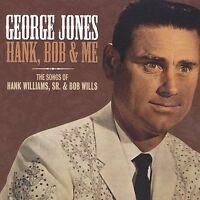 *NEW/SEALED* Hank Williams Sr Bob Wills & Me Songs George Jones CD 2003 Fuel