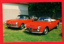 Car Postcard ~ Alfa Romeo 2000 & 2600 Spider Touring - Niccolini of Italy