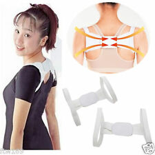 UNISEX BACK SUPPORT BRACE POSTURE CORRECTOR SHOULDER AID MOBILITY PAIN DISC HELP