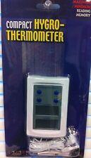 New! Compact Hygro -Thermometer w/External Sensor - Rt-810E