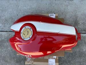 Ducati Monster 620 695 S2R 800 1000 Red White  Plastic Gas Fuel Petrol Tank