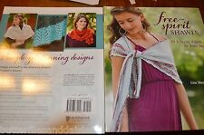 Free Spirit Shawls 20 Eclectic Knits Knitting Book by Lisa Shroyer