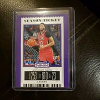 2019 Panini Contenders Anthony Davis Season Ticket #2! Los Angeles Lakers