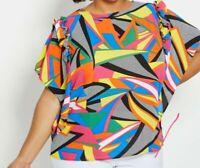 Abstract Shirt Ashley Stewart