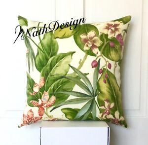 Outdoor/Indoor Tropical Flower Tommy Bahama 45cm Cushion Cover Garden Palm