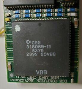 DCE Mini Megi Chip, like MegaChip for Amiga 500/2000 and CDTV, Working Pull
