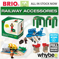 BRIO Railway Train Accessories Full Range of Wooden Toys 1yrs+ Toddler Children