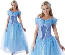 Ladies Licensed Disney Cinderella Fancy Dress Costume by Rubies