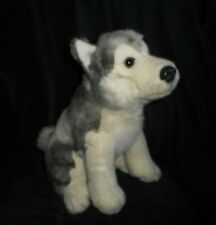 "12"" Circo Target 2009 Husky Alaskan Siberian Puppy Dog Stuffed Animal Plush Toy"