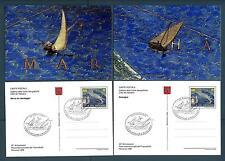 VATICANO - Cart. Post. - 1998 - RICCIONE '98 - Serie 4 val. in contenitore