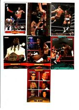 Booker T Wrestling Lot 7 Different Trading Cards 2 Inserts +Poster WWE TNA BT-A1