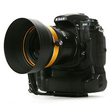 LIM'S Aluminum Metal 62mm Lens Hood SAH-GE62N1 for Canon Nikon Pentax Sigma Sony