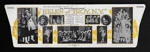 "Helen Ford ""HELEN OF TROY, NEW YORK"" (Musical) Queenie Smith 1923 Boston Herald"