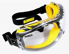 Dewalt Concealer Clear Anti Fog Lens Safety Goggle Glasses Z87+