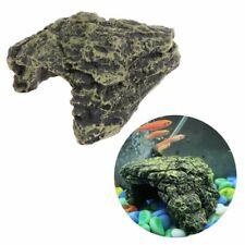 Reptile Cave Turtle Bask Back Caves Platform Case DecorResin Habitat Hide Rock