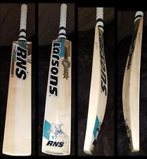 RNS Larsons Fusion Grade 1 English Willow Cricket Bat MS Dhoni Profile