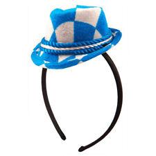 Oktoberfest Headband With Mini Trilby Hat - Costume Accessory Bavarian Motif